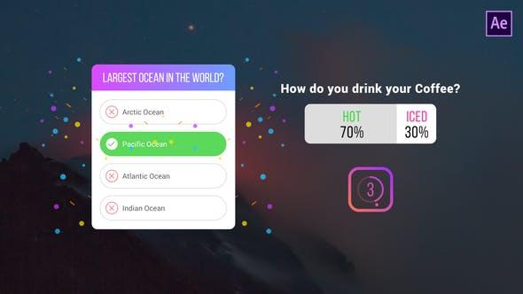Download Instagram Quiz & Poll – Videohive