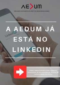 Criação do LinkeIn AEDUM