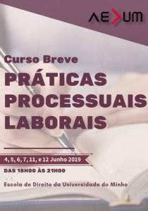 """Curso Breve de """"Práticas Processuais Laborais"""""""