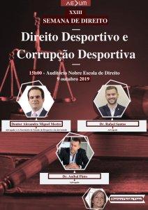 Direito Desportivo e Corrupção Desportiva