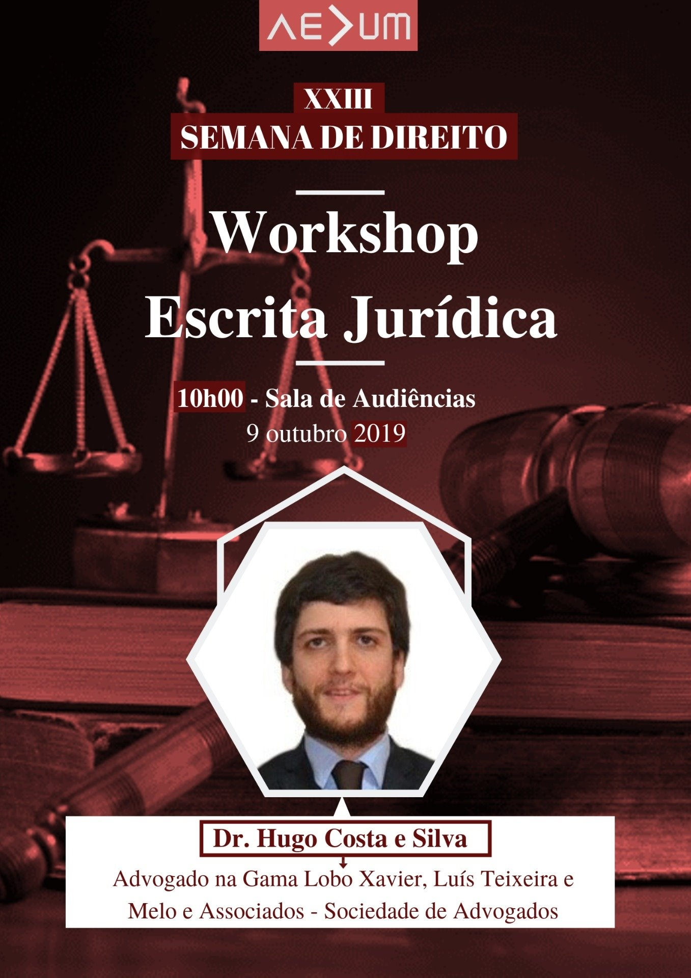 Workshop – Escrita Jurídica