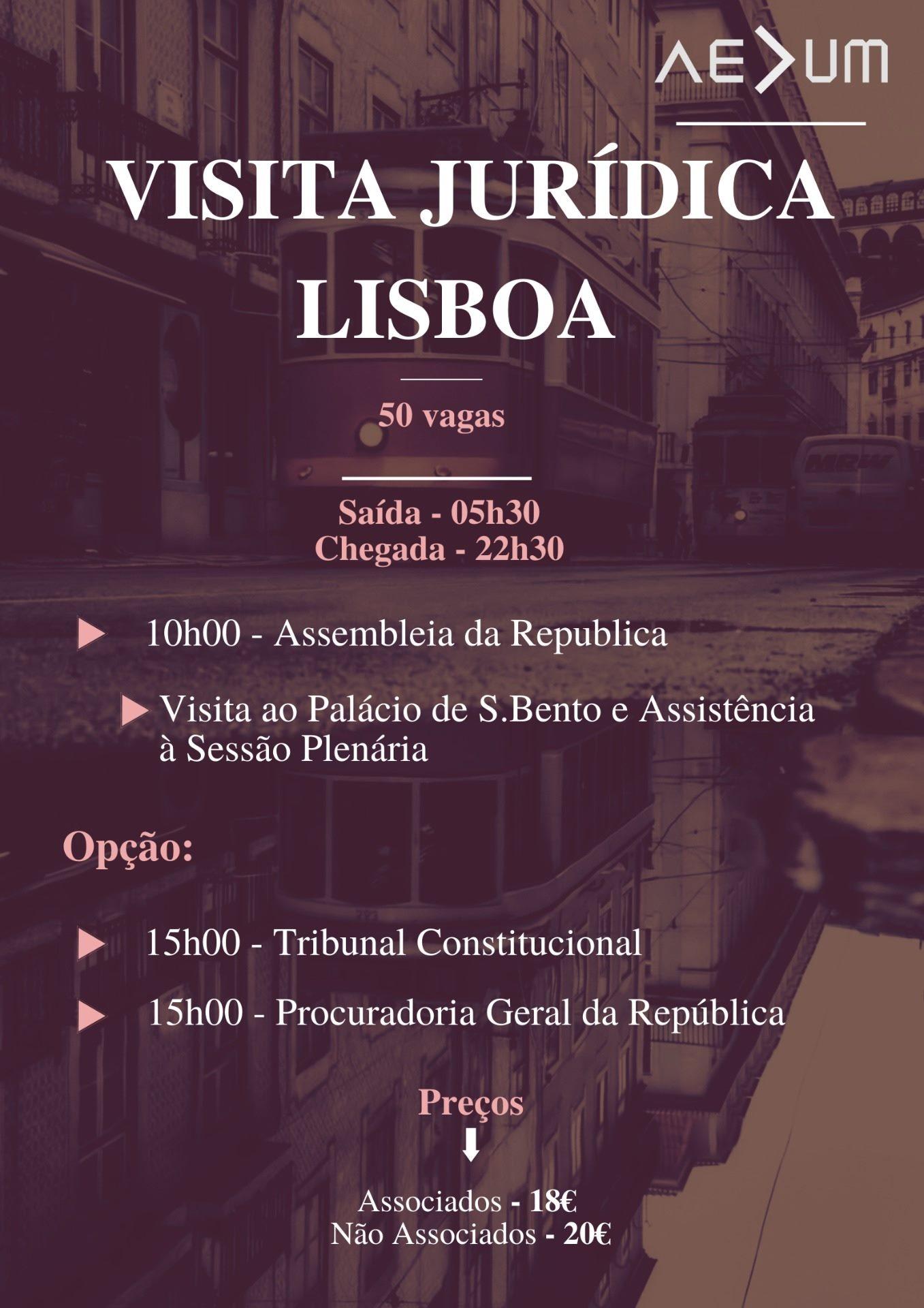 Visita Jurídica a Lisboa