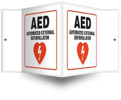 AED Signs and Rescue Kits