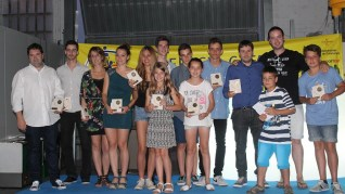 Tots els premiats a la Gala FCK 2015