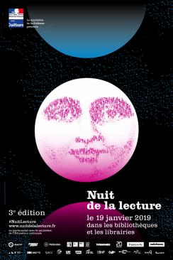 Affiche Nuit de la lecture 2019