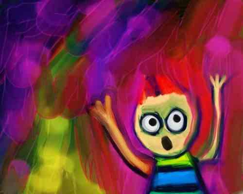 Peur d'enfant l Illustration par Prawny de Pixabay