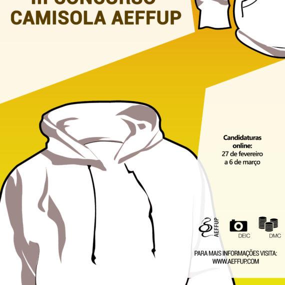 III Concurso Camisola AEFFUP – Inscrições