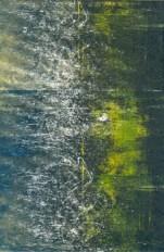 """ghost monoprint 4"""" x 6"""", oil-based ink on somerset velvet paper SOLD"""