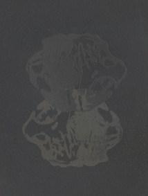 """letterpress monoprint 4"""" x 6"""", oil-based ink on somerset velvet paper SOLD"""