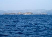 Τα νησιά όπως φαίνονται από τη Δονούσα.