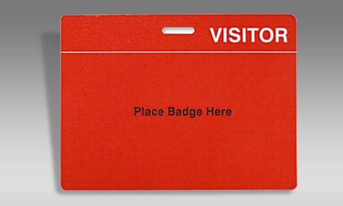 Visitor Card Holder