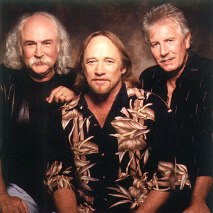 Crosby, Stills, and Nash will perform on August 9. Photo from boston.com.