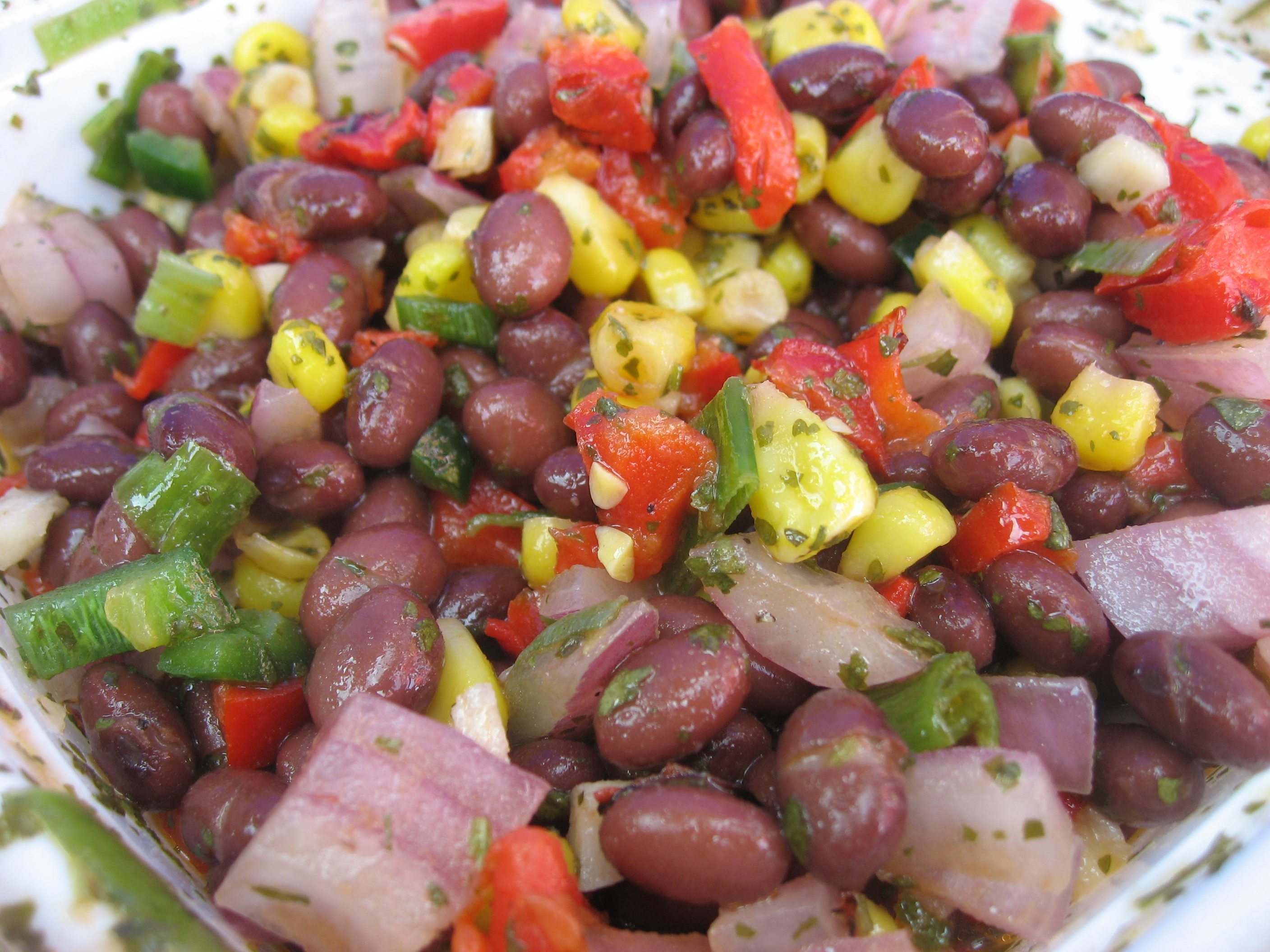 Does this Southwest Black Bean Salad look great? Photo by Kate Langenburg.