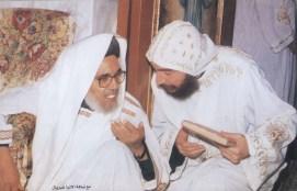 Bischof Athanasius und Bischof Ghabrial