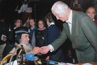Besuch bei Papst Shenuda