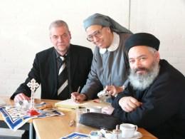 Superintendent Isigkeit, Sr. Agapie, Pfarrer Antonius