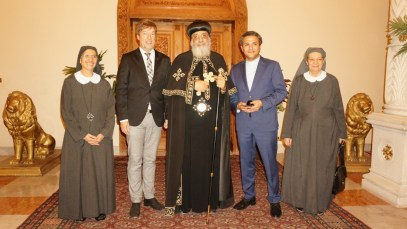 Empfang bei Papst Tawadros II