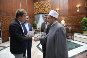 Austausch mit Groß-Imam al-Azhar Scheich Ahmed el-Tayeb