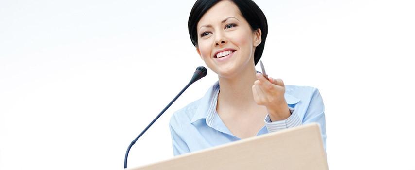 speaking-lady