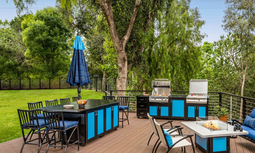 article an outdoor patio grill is a