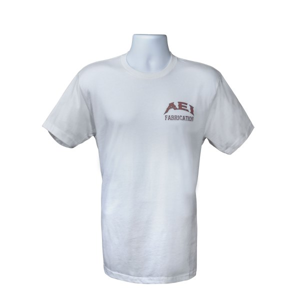 AEI Fabrication Shiner T-Shirt In White