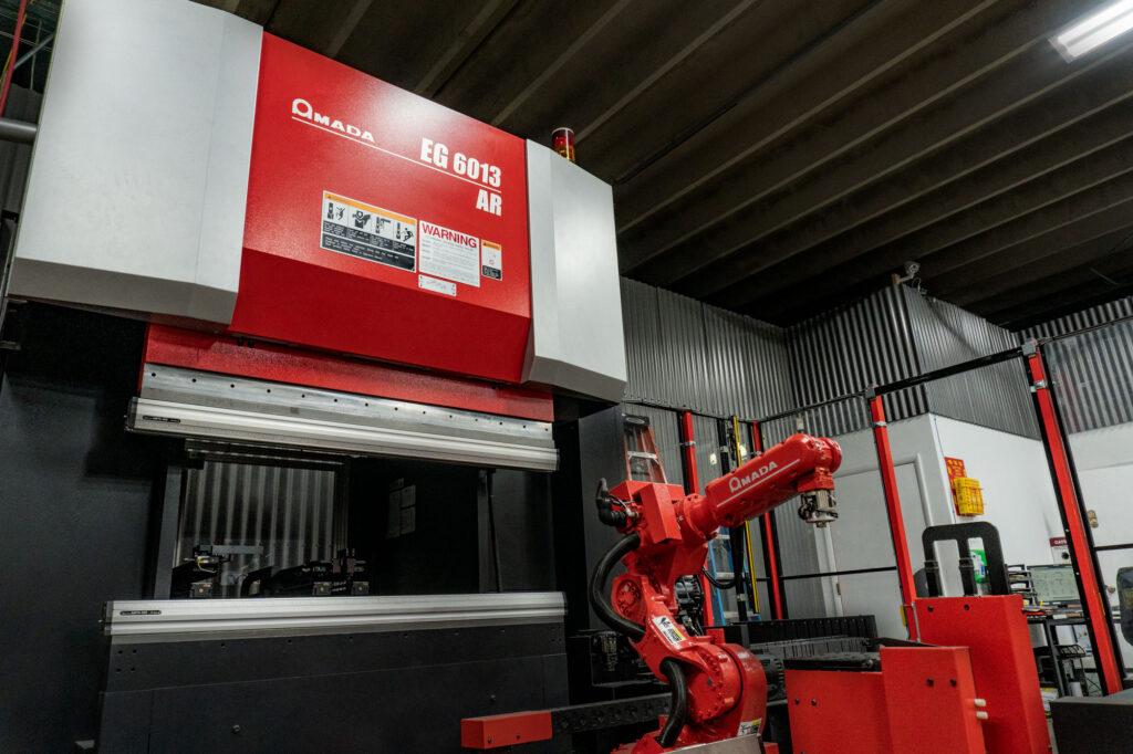 Amada EG 6013 Automated Press Brake