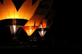 Balloons over Hamilton, Waikato, New Zealand, 2012