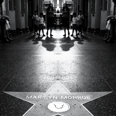 Our tour started in Los Angeles with an obligatory stroll over Hollywood's Walk of Fame.