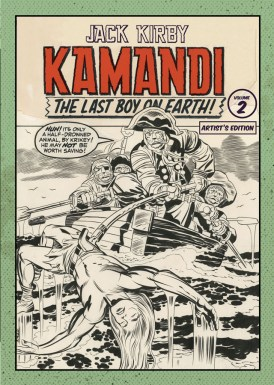 Jack Kirby Kamandi Artists Edition Vol 2 cover