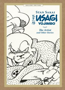 Usagi Yojimbo The Artist and Other Stories Gallery Edition cover