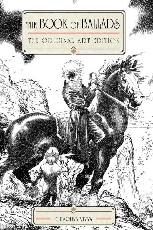 The Book Of Ballads, The Original Art Edition cover