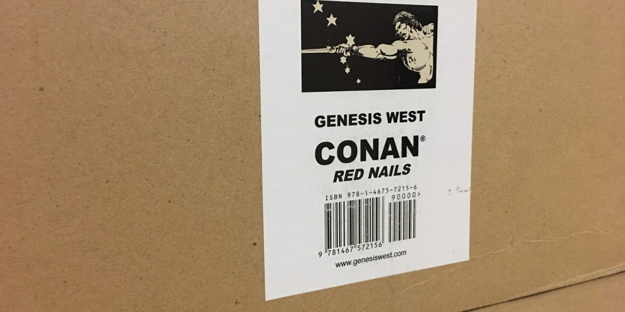 Conan: Red Nails Original Art Archives Volume 1
