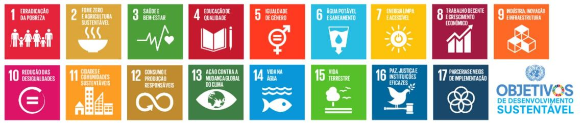 17 objectivos de desenvolvimento sustentável
