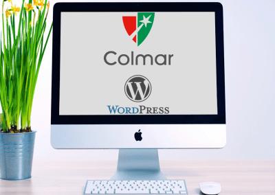Colmar Project WordPress development
