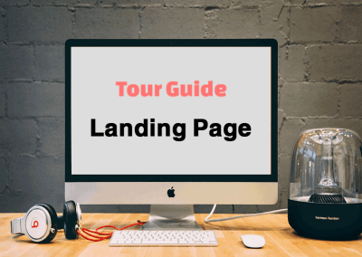 Landing Page Tour Guide