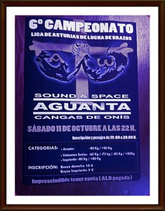 Cartel abierto Asturias 2014