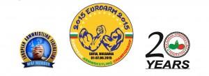 logo campeonato de europa 2015