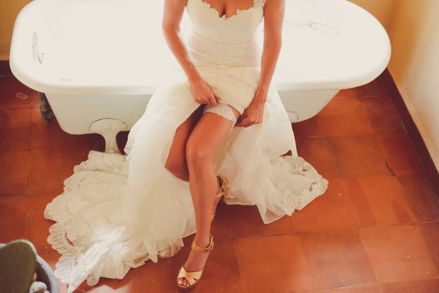 Destination bride getting ready moment captured by Lili Breton Weddings