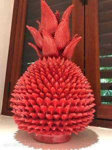 Pineapple Art. Hotel Esencia, Riviera Maya, Mexico