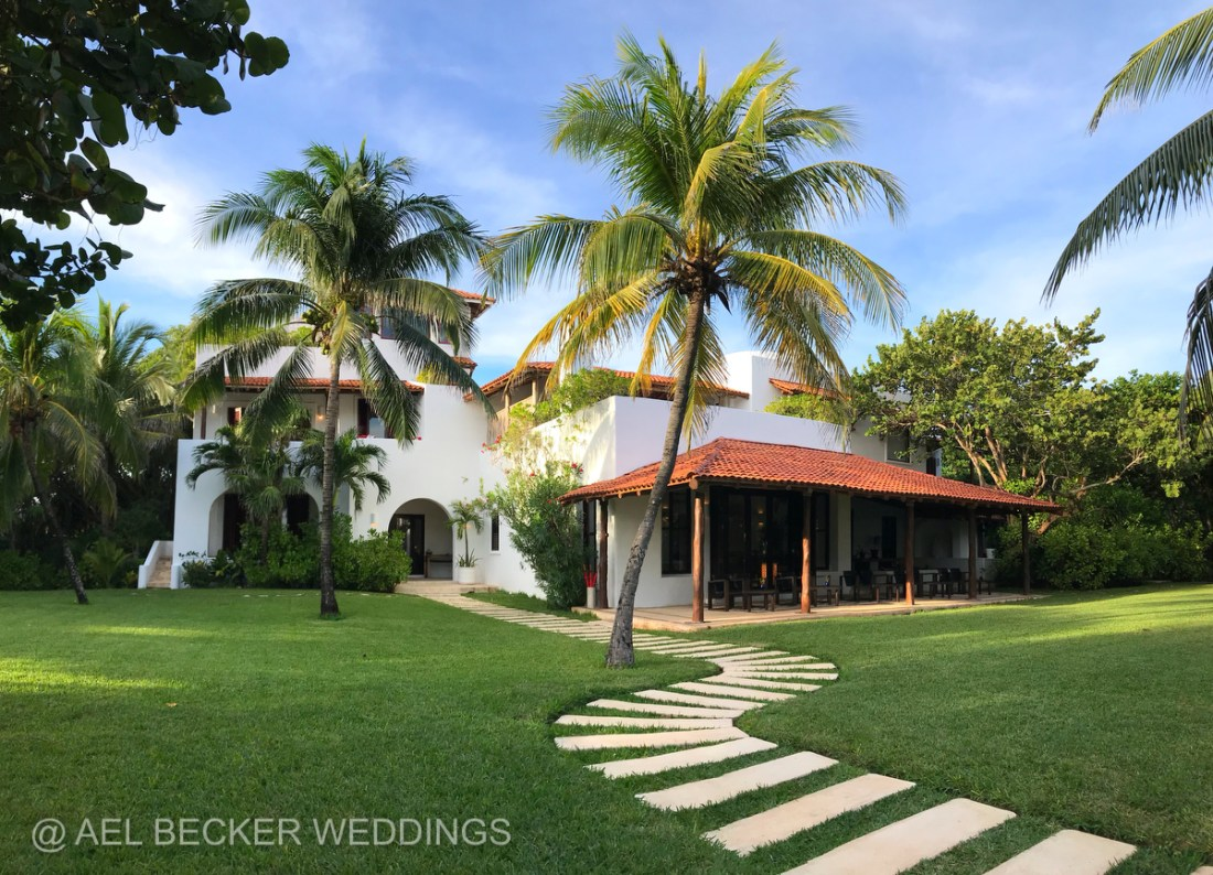 Hotel Esencia, Xpuha Beach, Mexico. Ael Becker Weddings