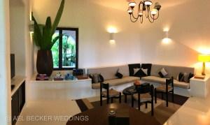 Game room area at Hotel Esencia, Riviera Maya, Mexico. Ael Becker Weddings