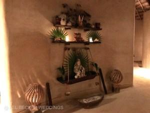 Ixchel altar at Hotel Esencia Spa, Riviera Maya, Mexico