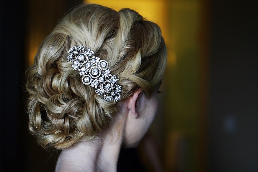 Doranna Hairstylist Riviera Maya. Bridal Hair. Ael Becker Weddings