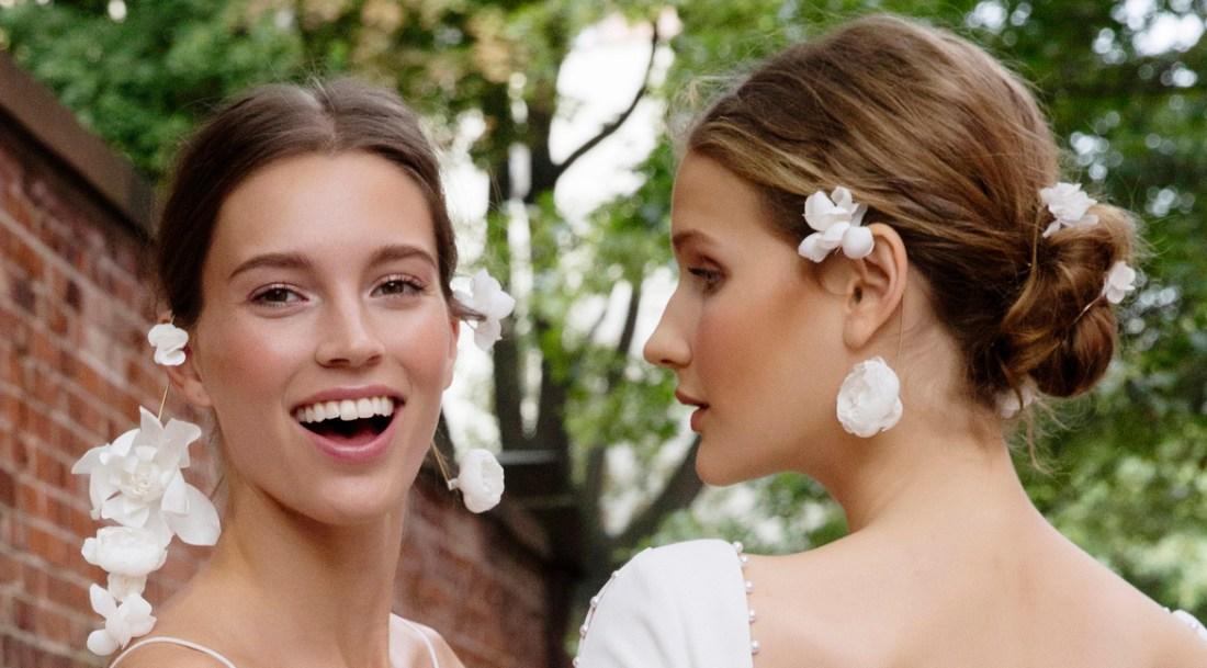 Lela Rose bridal beauty looks 2017