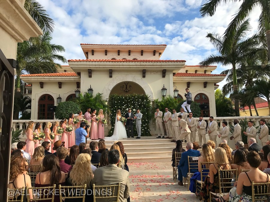 Luxury Weddings by Lucy Gallagher at Villa La Joya, Mexico