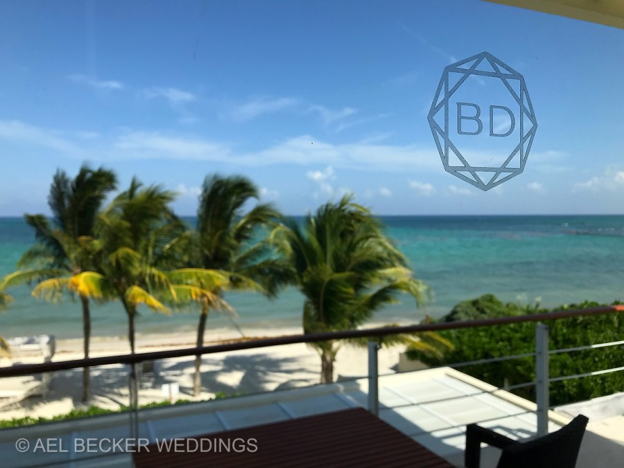 Blue Diamond Luxury Boutique Hotel, Riviera Maya, Mexico. Ael Becker Weddings