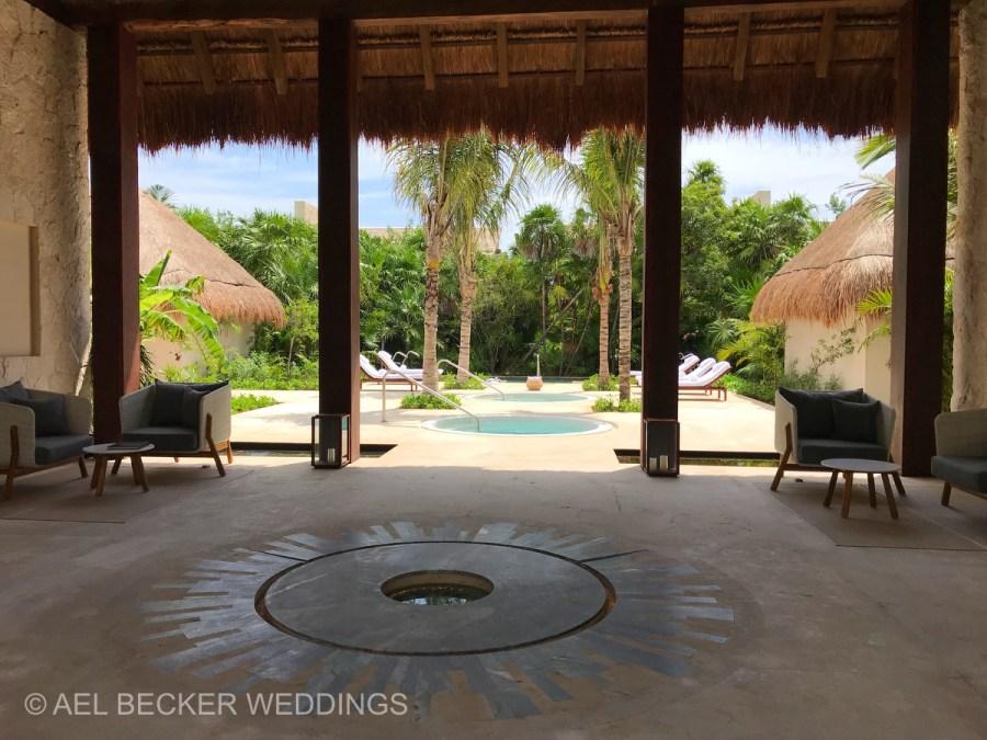 Chable Maroma Spa, Mexico. Ael Becker Weddings