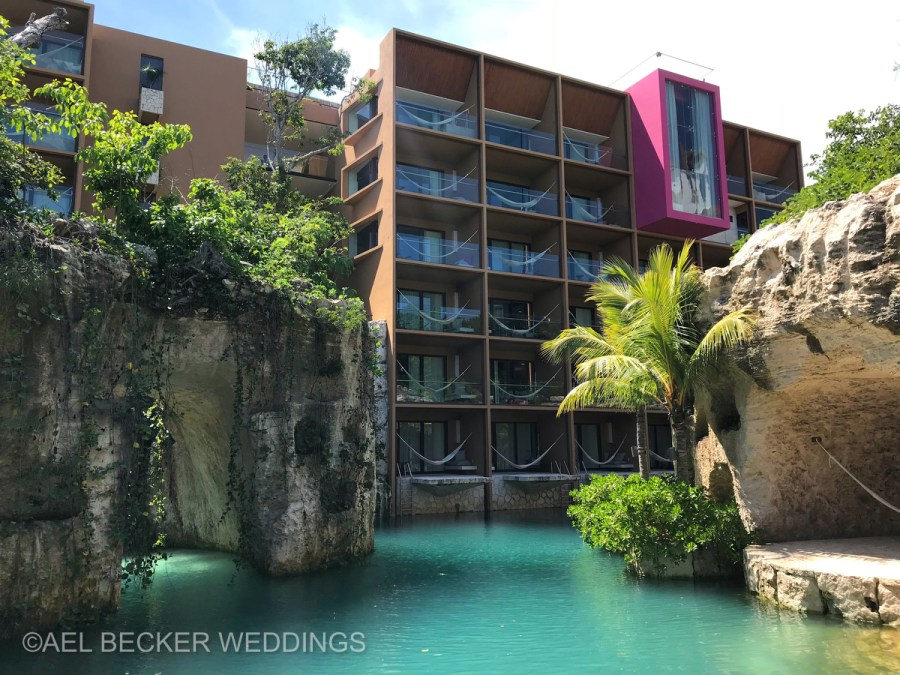 Hotel Xcaret, Riviera Maya Mexico. Ael Becker Weddings