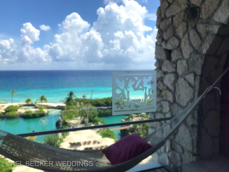 Hotel Xcaret Mexico, ocean view rooms at Casa Fuego. Ael Becker Weddings