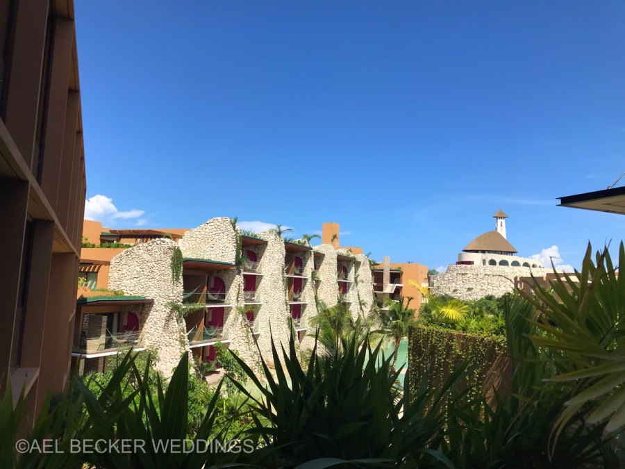 Hotel Xcaret Mexico, rooms and chapel. Ael Becker Weddings